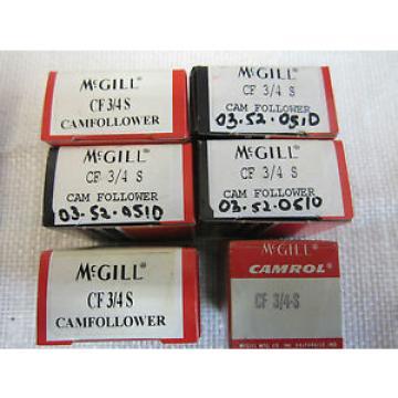 MCGILL CF ¾ S CAM FOLLOWER (6 PCS)