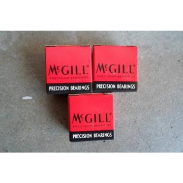 LOT 3 NEW McGill CCF 1/2 N SB Precision Bearings Cam Follower