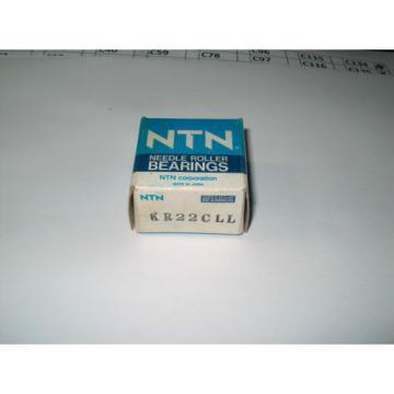 NTN CAM FOLLOWER BEARING KR22CLL **NEW**