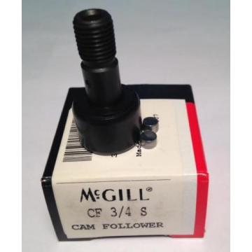McGill CF 3/4 S Cam Follower (NEW) Replaces Torrington CRS12 CRS-12 (CB3)