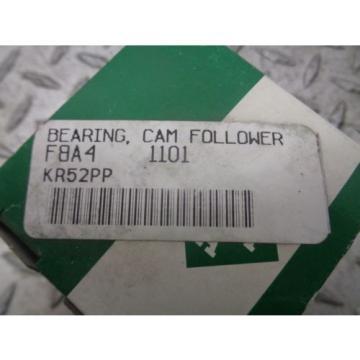 INA BEARING, CAM FOLLOWER F8A4 1101 KR52PP