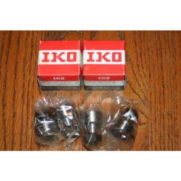 (Lot of 4) IKO Nippon Thompson CF10-1BUUR Cam Follower Bearings CF101BUUR NEW