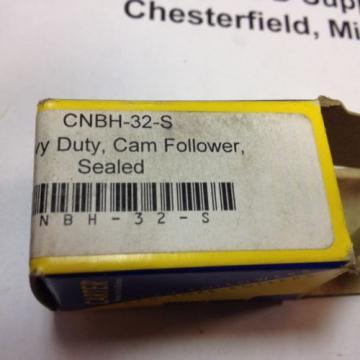 CARTER CNBH-32-S, CAM FOLLOWER YOKE ROLLER BEARING, BRAND NEW