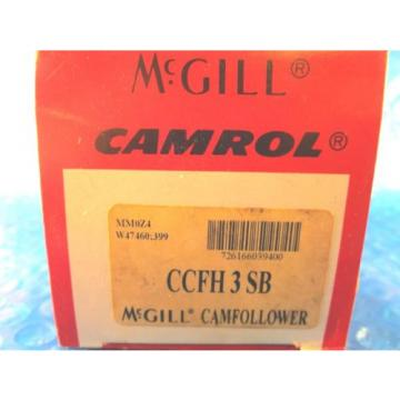 McGill CCFH3SB, CCFH3 SB,  Heavy Stud CAMROL Cam Follower Bearing