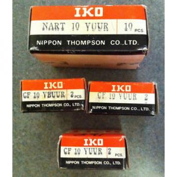 IKO CF 10 YBUUR (2PCS) Cam Follower