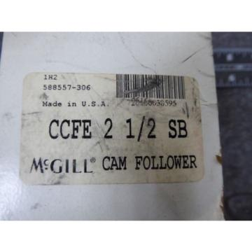 New McGill Cam Follower P/N CCFE 2 1/2 SB