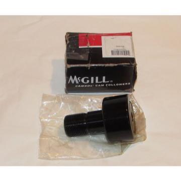 """McGill CFH2 1/4SB Cam Follower, Flat Surface, Steel, 2-1/4"""" Roller Diameter"""