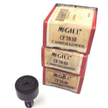 LOT OF 3 NIB MCGILL CF 7/8 SB CAM FOLLOWERS CF78SB