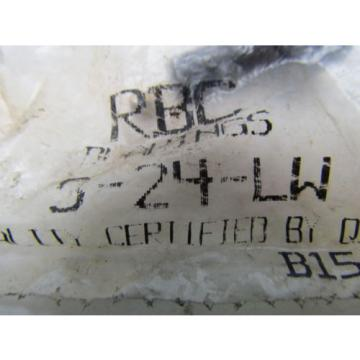 "RBC S-24-LW CAM follower hexlube 3/4"" socket head sealed lot of 2"