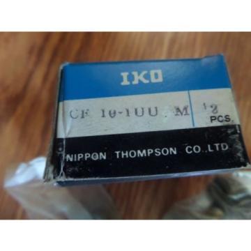 IKO Metric Cam Follower Bearing CF 10UU M CF10UUM 2PCS New