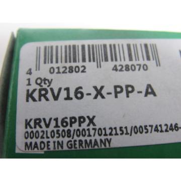 INA KRV 16-X-PPA Cam Follower Bearing