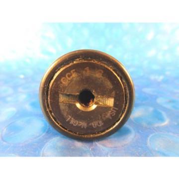 "McGill CCF 1S Cam Follower Bearing, 1"" Roller Diameter; 7/16"" Stud Diameter"