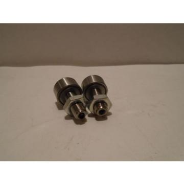 NEW LOT OF 2 INA GERMANY KR 22PPX CAM FOLLOWER BEARINGS WITH NUTS