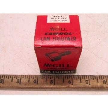 McGill MCF 47 SBX Camrol Cam Follower Bearing NIB