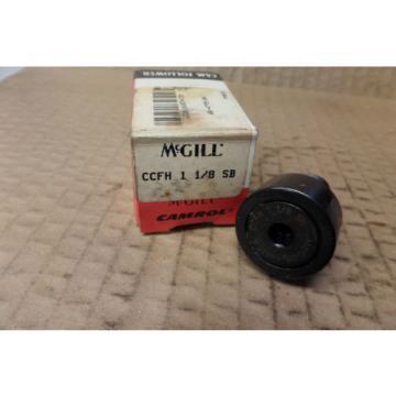 McGill Cam Follower Camfollower Bearing CCFH 1 1/8 SB CCFH118SB New
