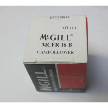 McGill MCFR16B cam follower bearing 16mm dia M6x1 thread