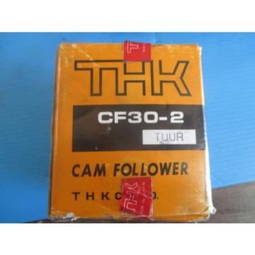 NEW THK CF30 2 CAM FOLLOWER BEARING TRANSMISSION METALWORKING TOOLING