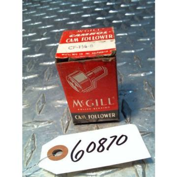 McGill Camrol CamFollower CF 1 1/4 - B  Cam Follower Bearing NIB