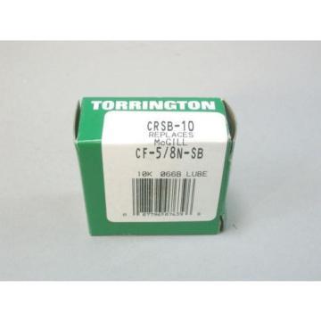Torrington Cam Follower Bearings CRSB-10 Replaces CF-5/8-N-SB Lot Of 3 - NEW
