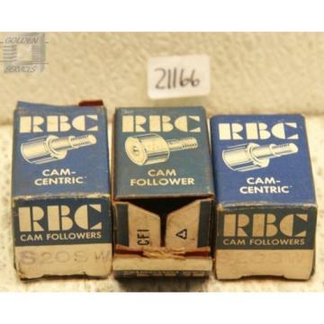 RBC S20SW Cam Follower Bearings (Lot of 3)