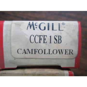 NEW MCGILL LOT OF 3 CAM FOLLOWER BEARINGS CCFE 1 SB