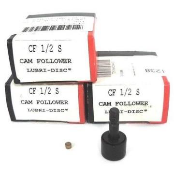 LOT OF 3 NIB MCGILL CF12S CAM FOLLOWERS 1/2IN, CF-12-S