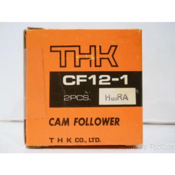 New THK Steel Cam Follower Bearing, 32mm Dia, 40mm Length, CF12-1 HuuRA