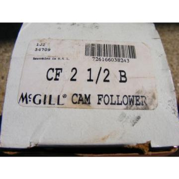 McGill CF21/2B CF 2 1/2 B Cam Follower New in Box