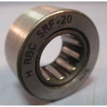 """RBC Cam Follower SRF20 1.000"""" OD x 0.5000"""" ID, Sealed Caged Roller Follower"""
