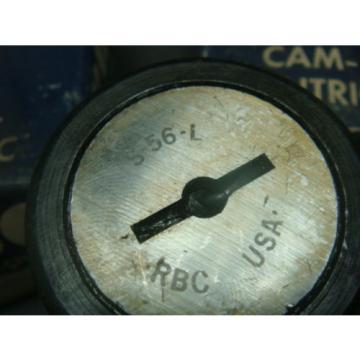 NEW RBC CAM FOLLOWER BEARING, LOT OF 2, S-56-L, S56L, NEW IN BOX