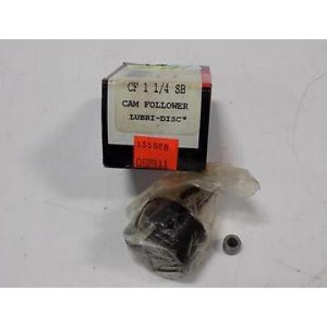 MCGILL CAM FOLLOWER LUBRI-DISC CF 1 1/4 SB NIB