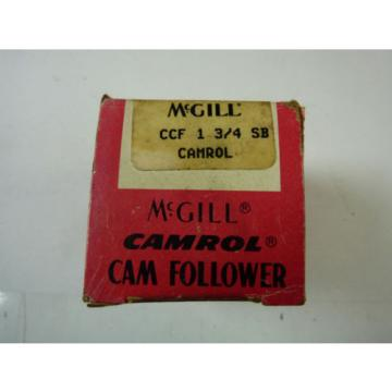 McGill CCF13/4SB Camrol Cam Follower ! NEW !