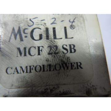 McGill MCF-22-SB Cam Follower ! NEW !