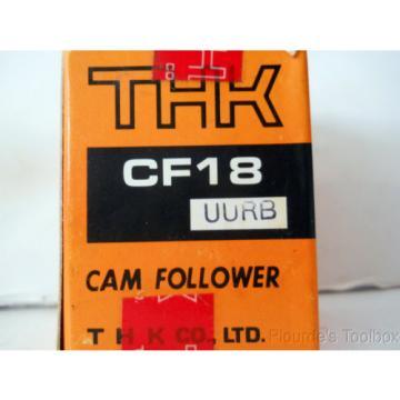 New THK Co. Cam Follower Bearing, 40mm Dia, 58mm Length, CF18 UURB