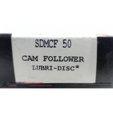 MCGILL SDMCF 50 , CAM FOLLOWER AXIAL DYNAMIC LOAD CAPACITY 6700 LB, NEW