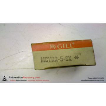 MCGILL MCYRR-5-SX CAM FOLLOWER, NEW #144050