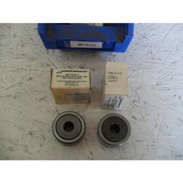 NEW Smith Bearing YR-1-1/2 902575 SS Cam Follower, QTY 2 w/ free shipping