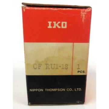 NIPPON THOMPSON, IKO,  CAM FOLLOWER,  CF RU1-18, NIB
