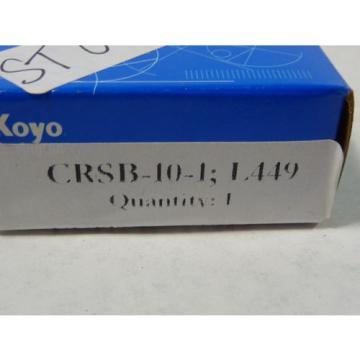 Koyo CRSB-10-1;L449 Cam Follower ! NEW !