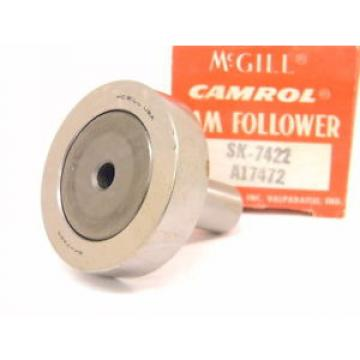 NEW McGILL/CAMROL CAM FOLLOWER ROLLER BEARING SK-7422 (A17472)