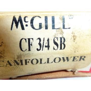 McGill CF3/4SB Cam Follower 3/4 Inch ! NEW !