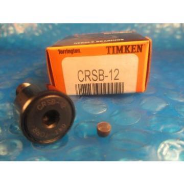 Torrington Timken CRSB12, CRSB 12,Standard Cam Follower(= McGill CF 3/4 SB)
