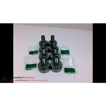 INA NUKR52-A - PACK OF 8 - CAM FOLLOWER BEARING 2 IN, NEW #190619