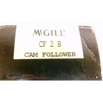 MCGILL CF 2 B , STUD CAM FOLLOWER WITH HEX ROLLER DIAMETER 2 DEC INCH