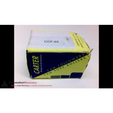 CARTER CNB-64-S, STANDARD SLOTTED SEALED CAM FOLLOWER, ROLLER DIAMETER,  #204524
