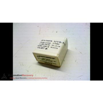 ACCURATE BUSHING CO MYR-5-S SINGLE ROW YOKE TYPE CAM FOLLOWER 5MM ID, NE #162883