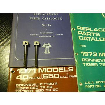 NOS TRIUMPH MERIDEN T120 /T140 CAM FOLLOWERS, TAPPETS , TRIUMPH P.Nº.70-3059