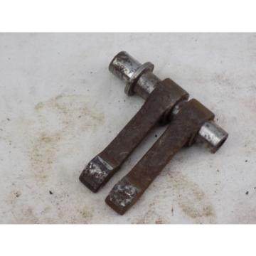Panther motorcycle part, M65 M75 pair of cam followers and support shaft, scarce