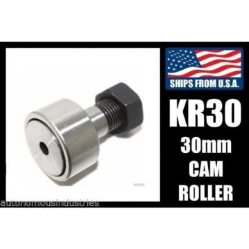 30mm Cam Rollers/Followers for Medium/Heavy Duty CNC Assembly, Load Bearing KR30