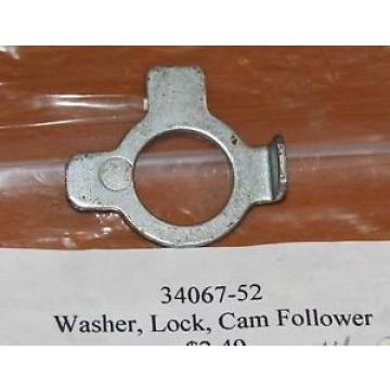 HARLEY 34067-52 CAM FOLLOWER LOCK WASHER GENUINE OEM NOS